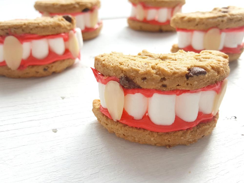 Biscuits dents de vampires