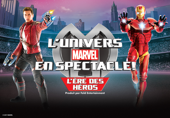 CONCOURS L'univers Marvel EN SPECTACLE