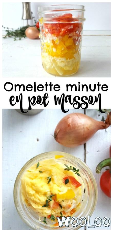 Omelette en pot Masson / wooloo