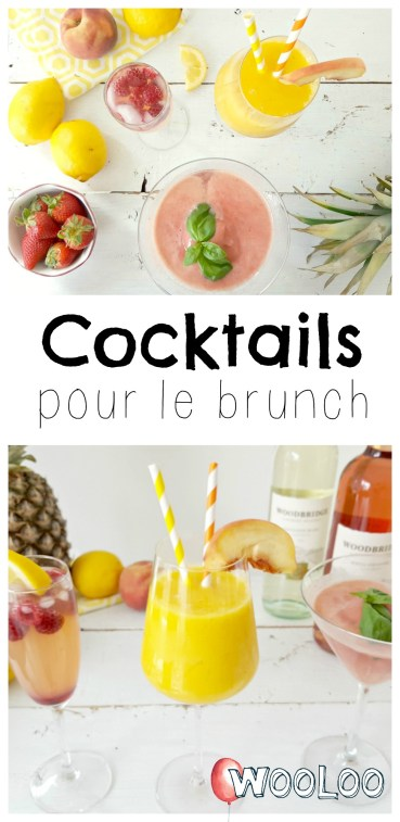 cocktails pour le brunch wooloo
