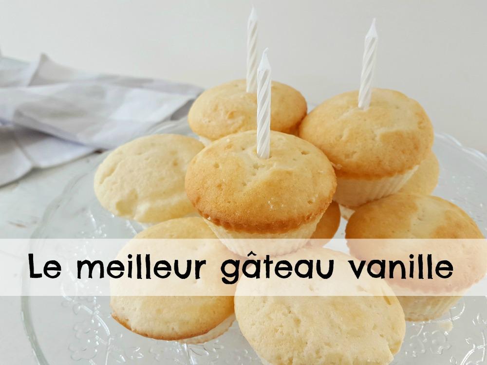 Le meilleur gâteau vanille