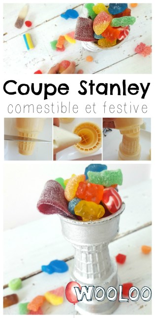 Coupe Stanley comestible et festive wooloo
