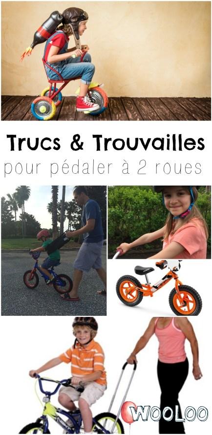 Trucs pour apprendre à faire du vélo à deux roues wooloo