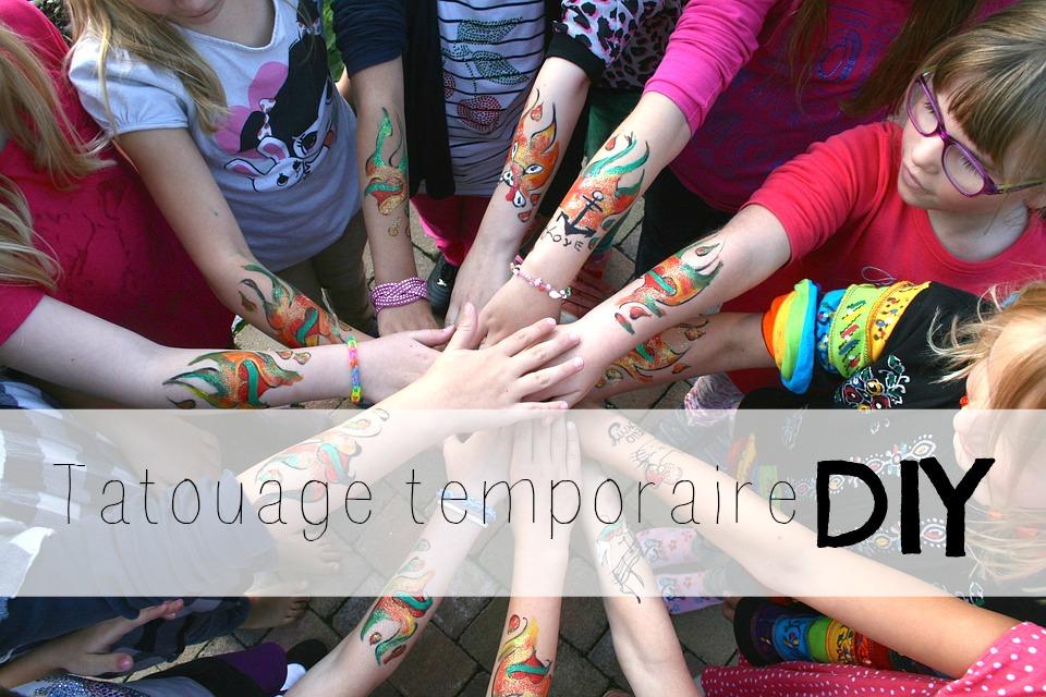 Tatoués en vacances – 3 méthodes pour faire des tatouages temporaires DIY