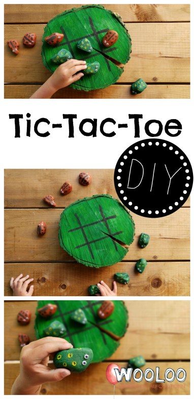 Tic-Tac-Toe DIY wooloo