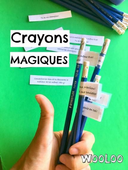 crayon magique wooloo