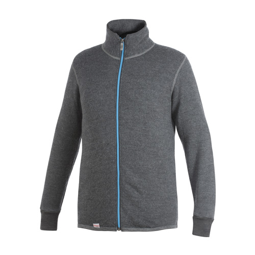 Color Collection - Full Zip Jacket 400 - Grey/Tuquoise
