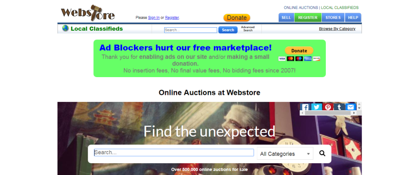 15 Best Free Online Auction Websites - WoolThemes