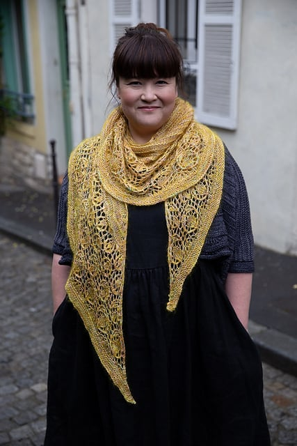 The posy shawl