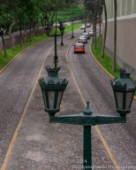 A street in Lima takes you back in time.