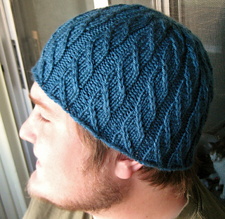 http://www.ravelry.com/patterns/library/faux-cable-beanie