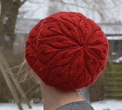 http://www.ravelry.com/patterns/library/slouchy-candle-flame-hat