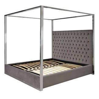 Bed Victoria 180x200 excl. matras Fire Retardant (Quartz Stone 101)