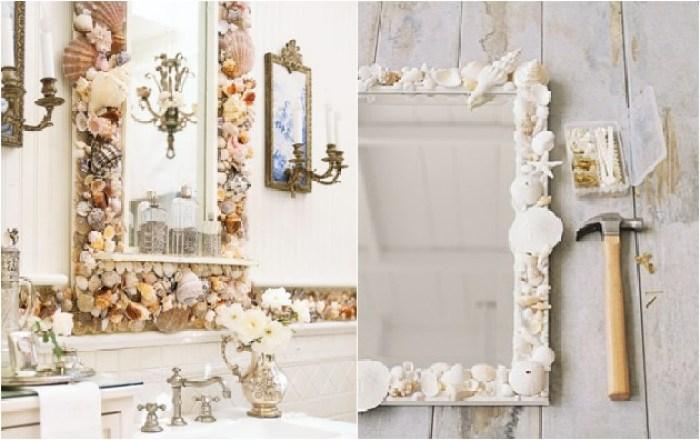 spiegel van schelpen