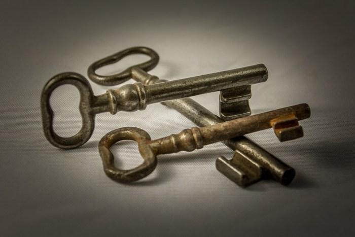 sleutel nieuw huis