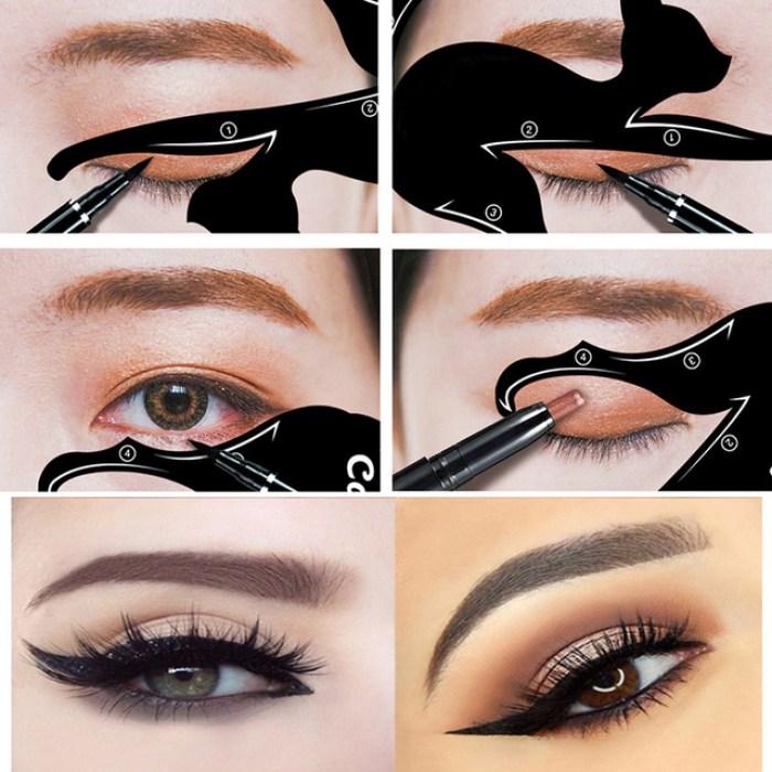 cat eyes make up tool