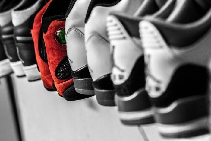schoenen netjes in de kast