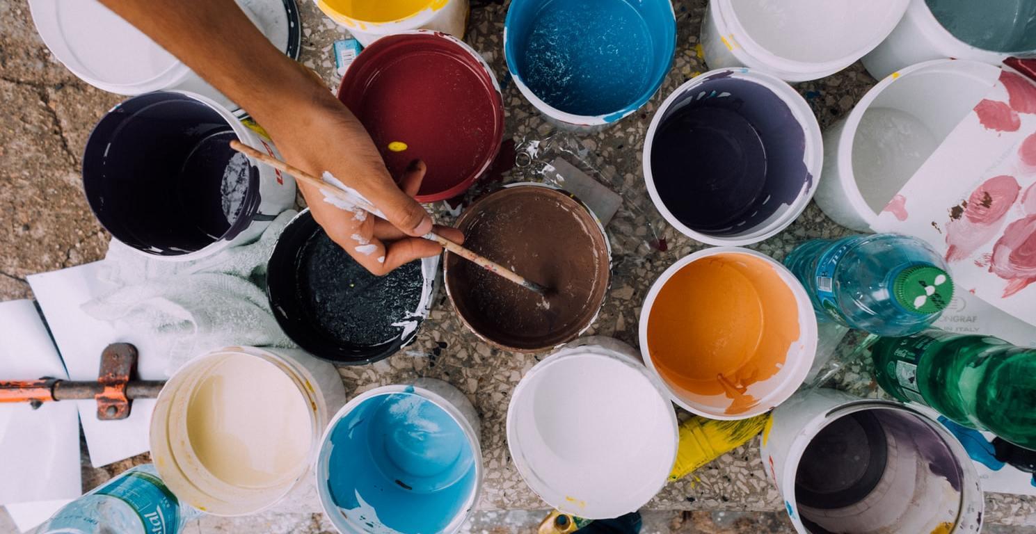 schilderen in huis