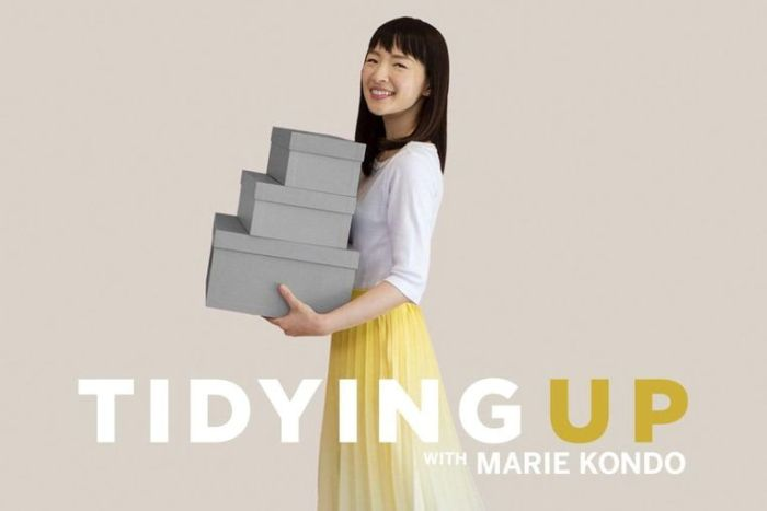 opruimen met Marie Kondo