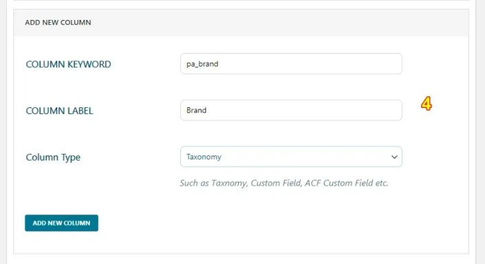 Select the column type as Taxonomy