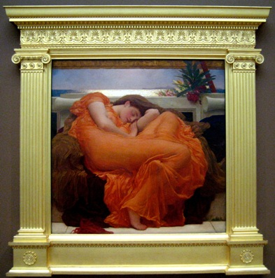 """Flaming June"" in de originele lijst"