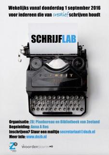 poster schrijflab