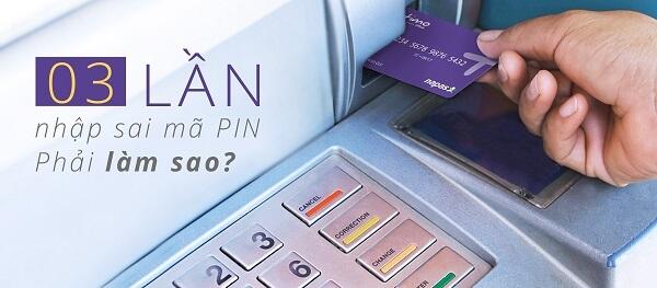đổi mã pin ATM wooribank