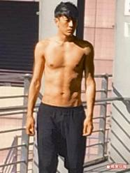 """This is supposed to be """"hot"""" but damn Joe you are too skinny!!! Someone grab this man a shirt!"""