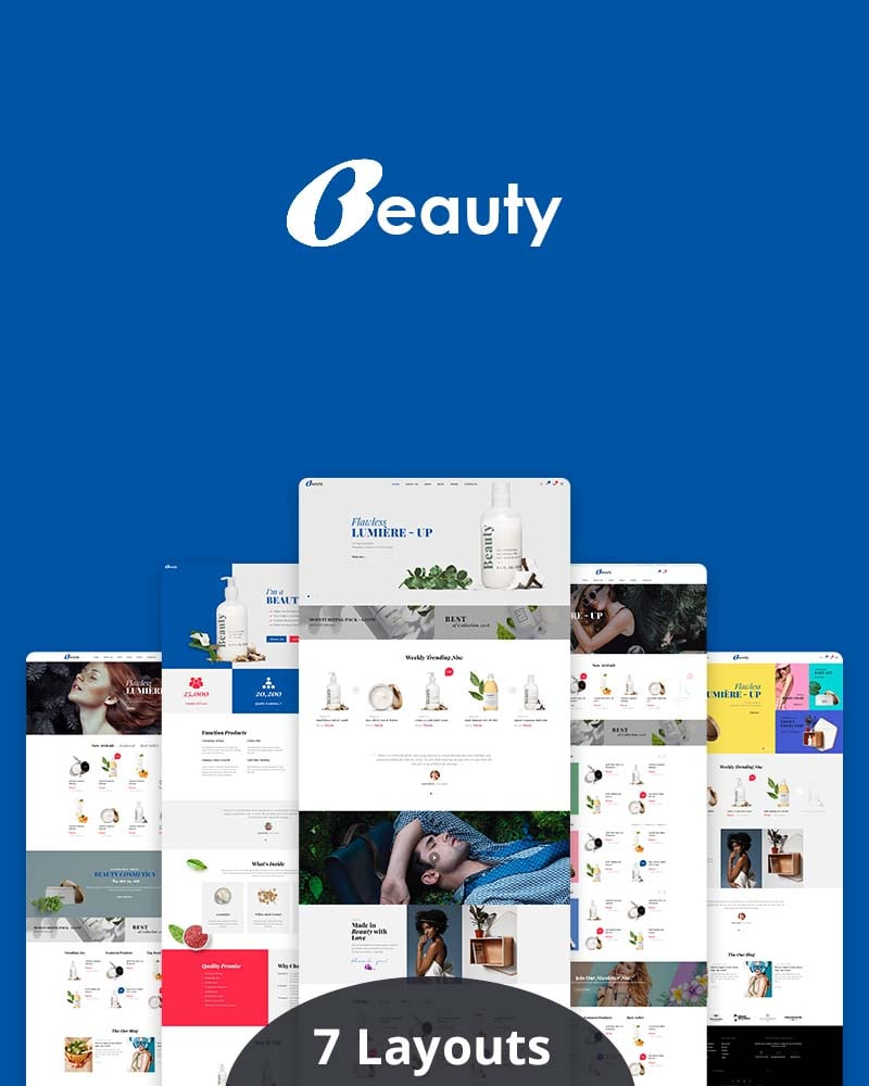 Beauty WooCommerce Beauty & Cosmetics Theme