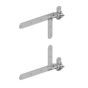 Adjustable Band & Hook on Plate- Braced