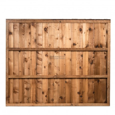 Premium Feather Edge Fence Panel Fully Framed