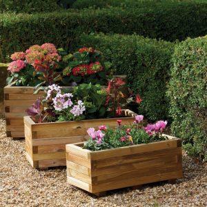 Berkley Rectangular Planter (Set of three)