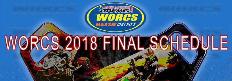 WORCS 2018 FINAL SCHEDULE