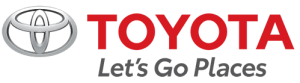 TOYOTA LOGO - LET'S GO PLACES