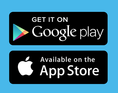 GET IT ON GOOGLE PLAY AND THE APPLE APP STORE