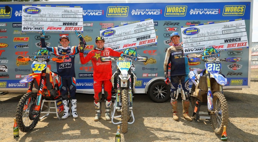 2019-07-podium-pro-bike-worcs-racing