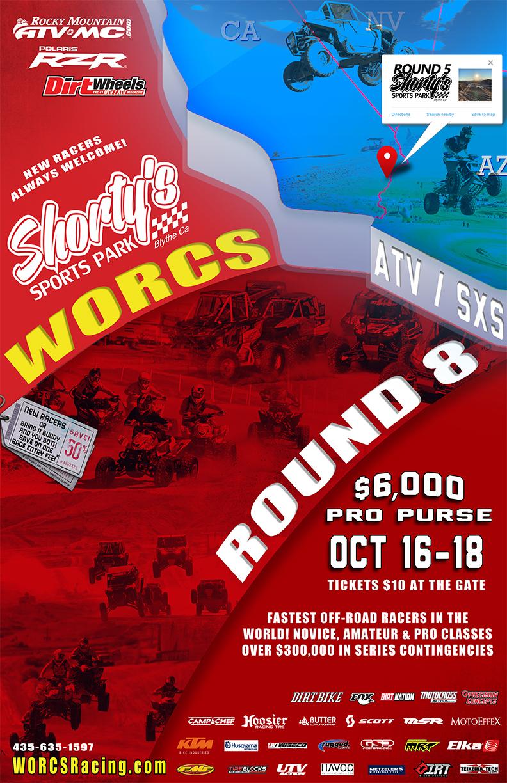 2020 Round 8 ATV SXS Blythe