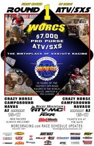 FLYER - 2021 Round 1 ATV SXS Havasu