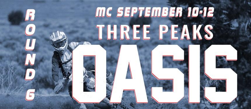ROUND 6 MC SEPTEMBER 10-12 THREE PEAKS OASIS