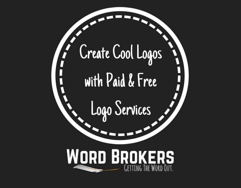 create cool logos with paid and free logo services