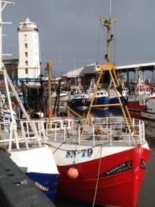 Fishing boats at North Shields