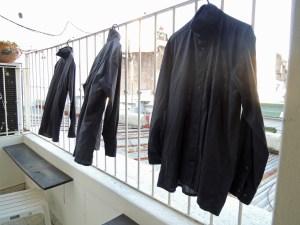 Hemden trocknen in Buenos Aires