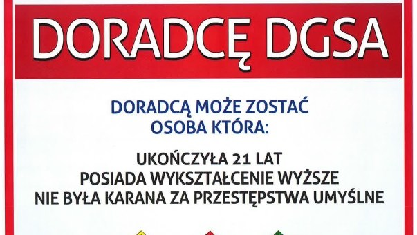 Kurs DGSA – rozpoczęcie 22.11.2019r.