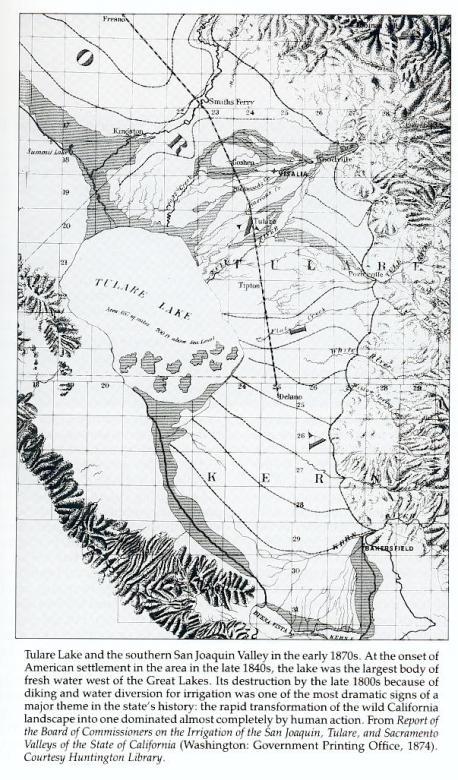 Tulare Lake & Environs