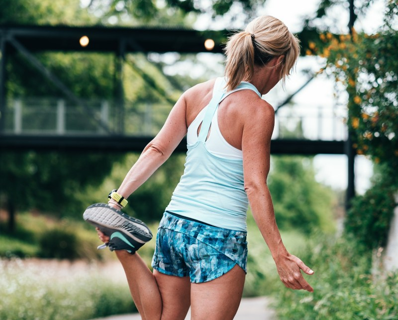 best quotes about sports, runner girl stretching