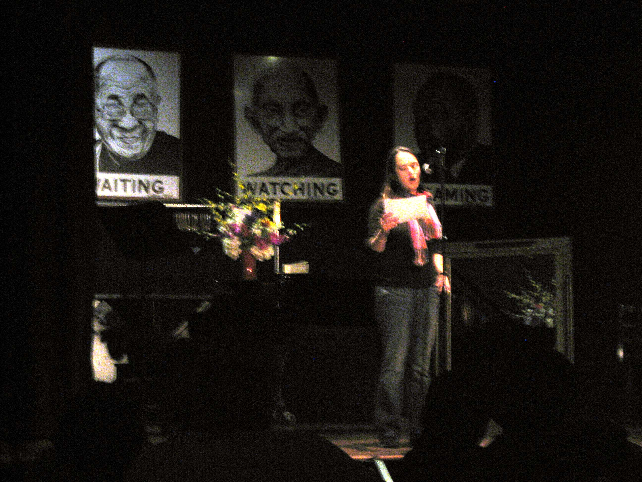 Reading at Busboys and Poets in DC