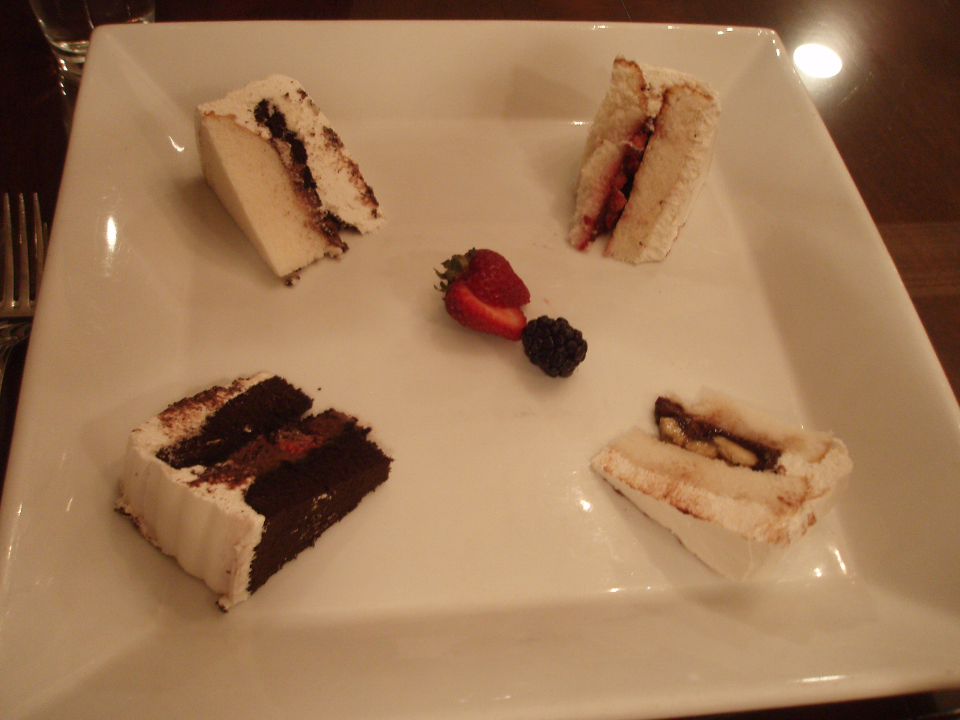 cake tasting