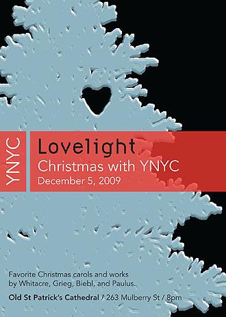 YNYC Holiday Concert