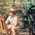 Jan McGuire - Me in Zimbabwe 1998