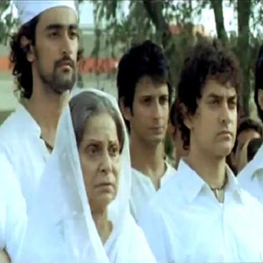 waheeda rehman with aamir khan in rang de basanti